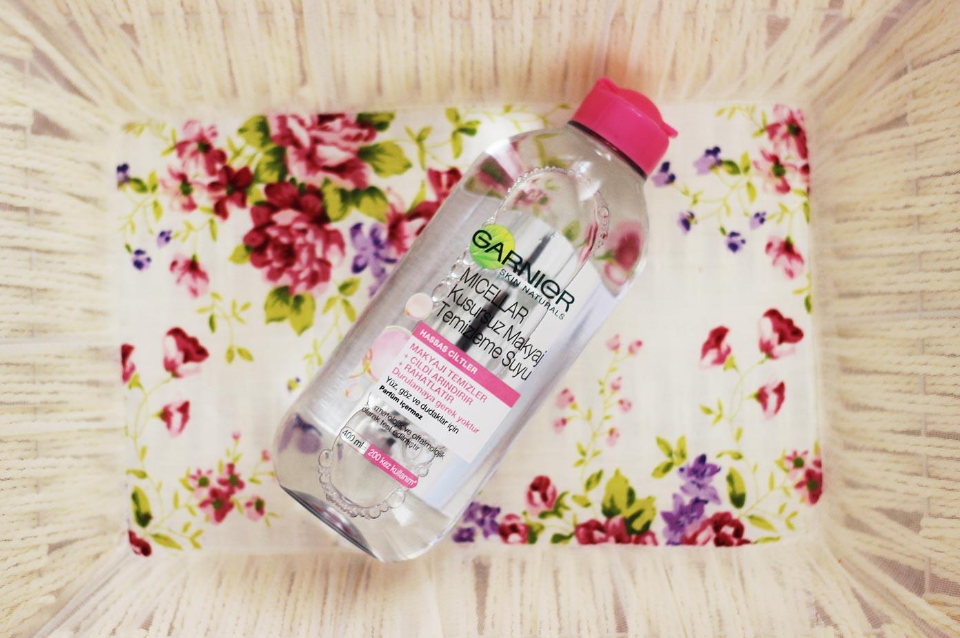 garnier-micellar-makyaj temizleme suyu
