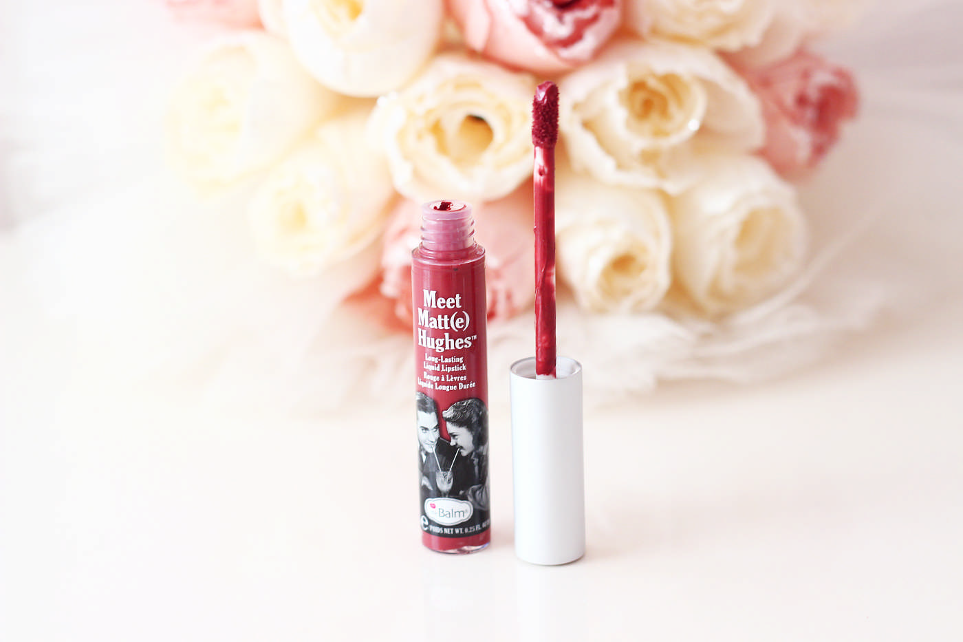The Balm Meet Matte Hughes Liquid Lipstick Likit Ruj - Trustworthy (1)