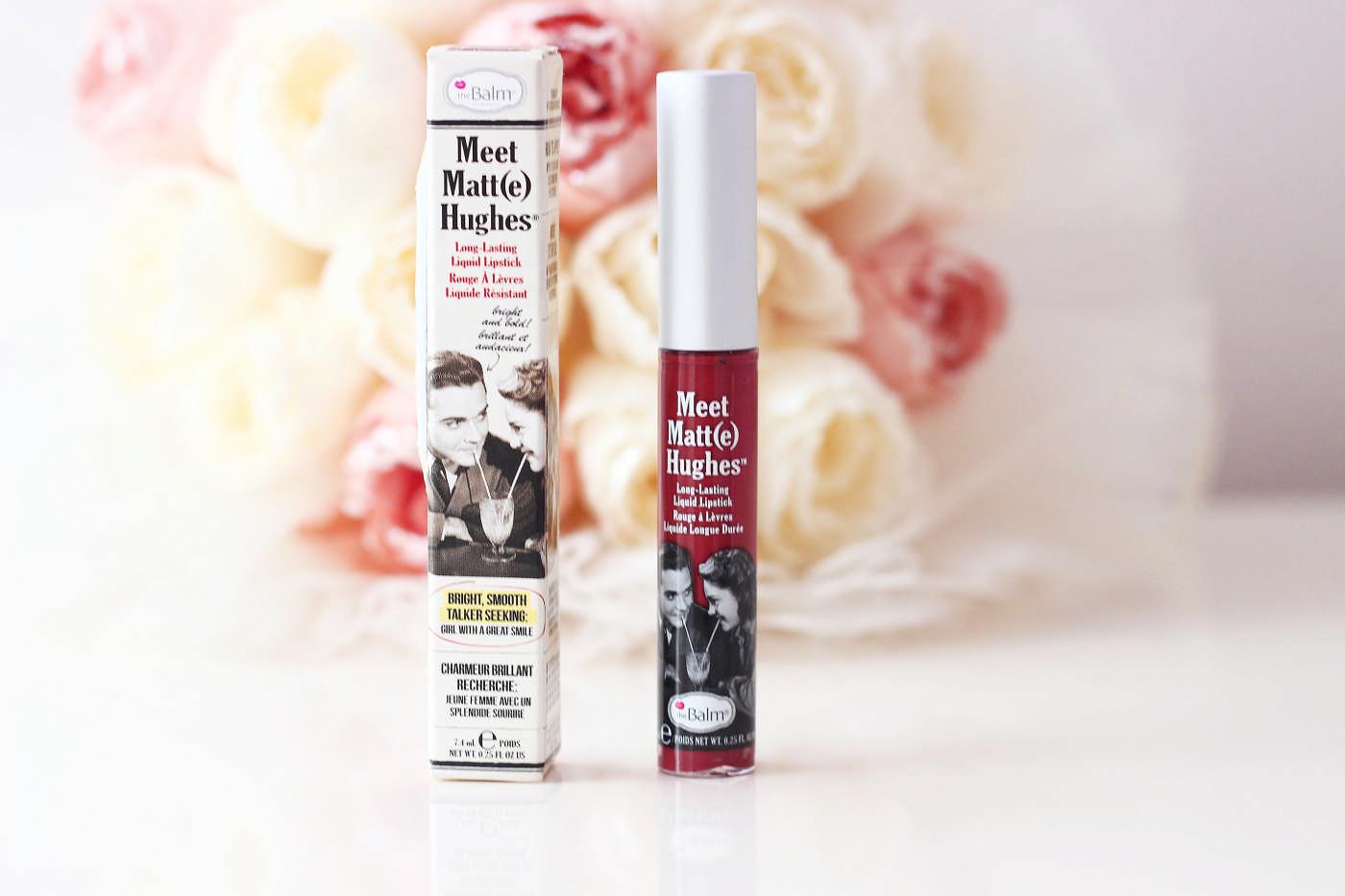 The Balm Meet Matte Hughes Liquid Lipstick Likit Mat Ruj - Trustworthy